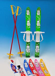Ski-Kinderski-Babyski-Lernski-70cm-7-Farben-fuer-Kinder-Wintersport-Skier