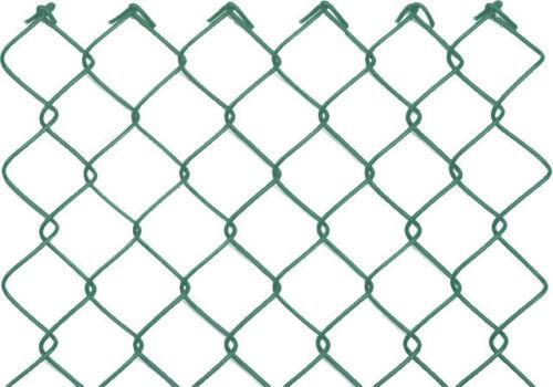 "25m Komplett Set /""BASIC/"" 60x2,8x1000 Maschendrahtzaun grün Starterset Zaunset"