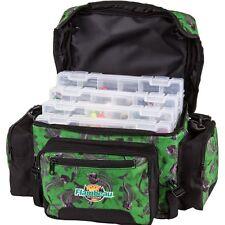Flambeau Fishing Soft Tackle Bag Lure Box Gear Storage System Camo XL