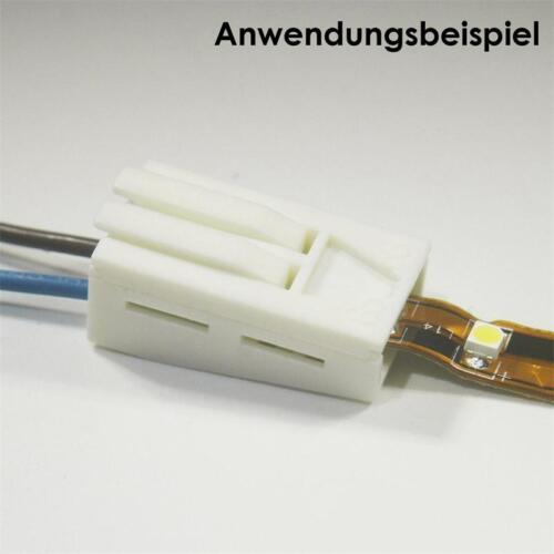 """Schnellanschluss /""""Light-CLICK™/"""" für 2poligen SMD LED Stripe Schnellverbinder"""