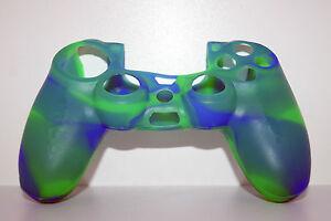 vert-4-Playstation-4-PS4-Silicone-Controleur-Joypad-Housse-habille-caisse