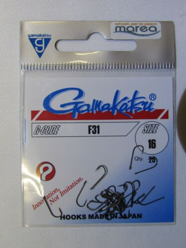 Ami con piccolo occhiello GAMAKATSU F31 hook with eyelet