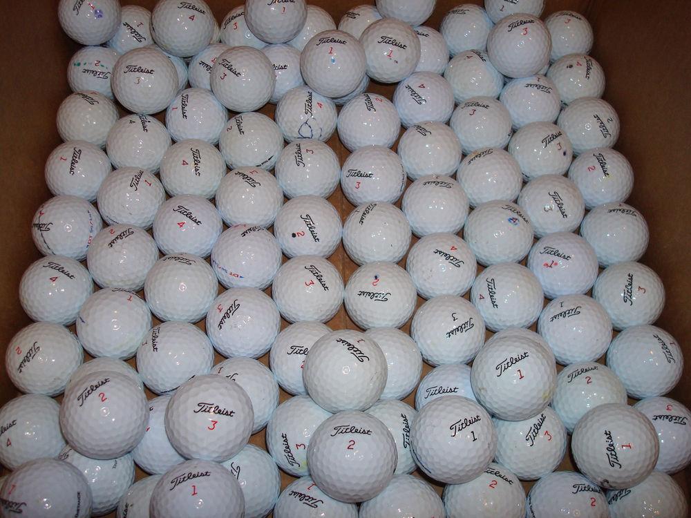 100 Assorted Titleist balls grade  AAAAA Used 78.90 with ship