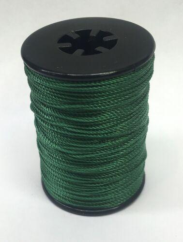 Green BCY Nock /& Peep Bow String Serving Bowstring Nylon