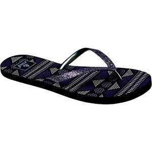 Woman Reef Star Stargazer Prints Flip Flops Sandal RF1604 Iris 100% Original NEW