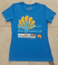 New 2016 World Championships Ironman 70.3 Triathlon Finisher Shirt Women Medium