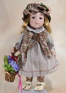 Image Is Loading Duck House Marla Porcelain Collector 039 S Doll