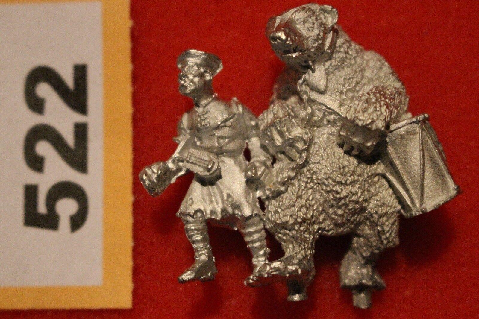 Games Workshop Warhammer Fantasy Regimental Mascot of the Empire Bear Metal Mint