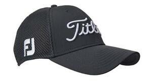 Titleist Mens Sports FJ Pro V1 Mesh Fitted Golf Hat Cap XL Gray FAST ... 1c1274db00d4
