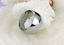 Anello-Fede-a-Fascia-Uomo-Donna-Unisex-Acciaio-Stainless-Love-Coppia-Idea-Regalo miniatura 2