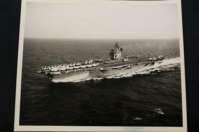 Beautiful Military Ship Photo Uss John F Kennedy Grade Products According To Quality p1324 8' X 10' B & W Photo cva-67
