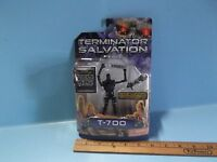 Terminator Salvation T-700 4in Action Figure W/resistance Crushing Angle Iron