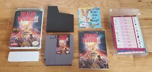 Dragon-Warrior-III-iii-3-Nintendo-NES-Game-lot-Box-Map-Chart-Manual-Complete-CIB