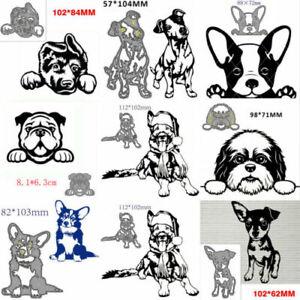 Metal-Cutting-Dies-Dog-Decoration-Scrapbook-Paper-Craft-Blade-Punch-Stencil-Mold