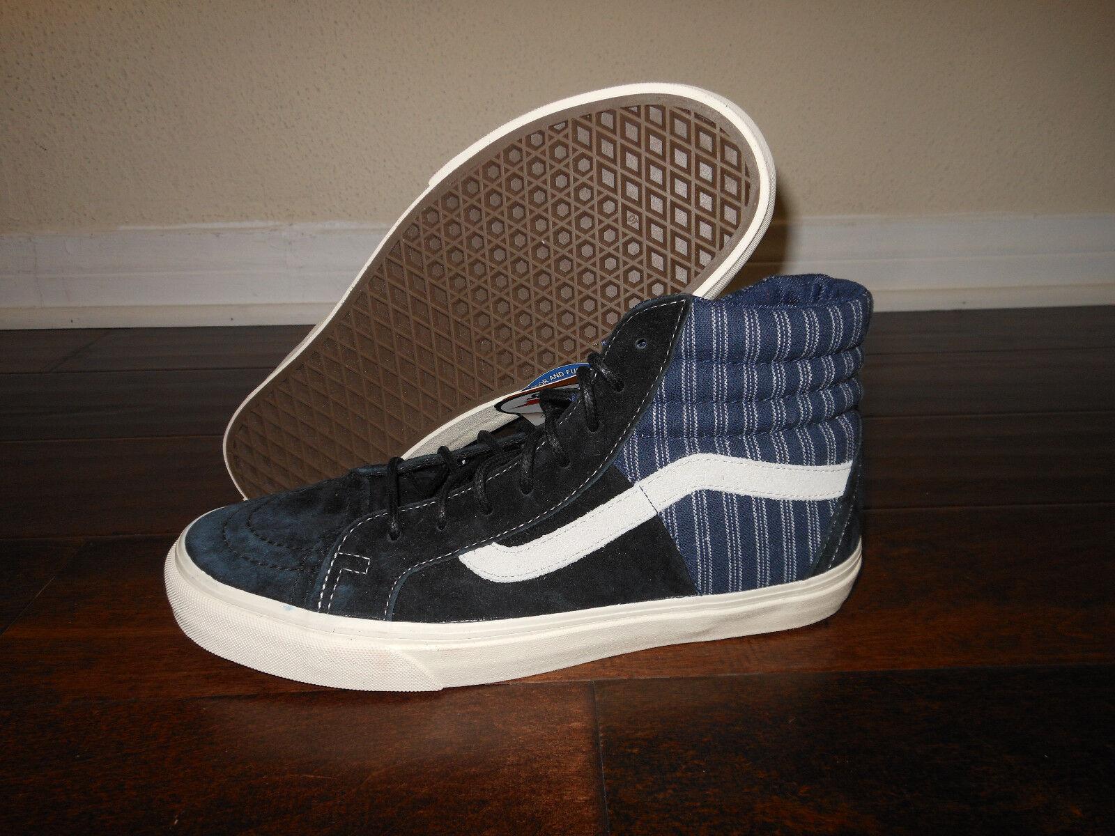 Vans SK8-HI 46 CA Hickory mezcla VN -0 zdiet 4 zapatos talla 10 de hombre 43 EUR Negro Azul