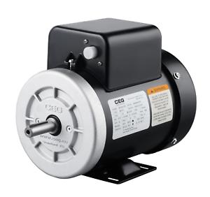 NEMA-Electric-Motor-Single-phase-0-75kw-1hp-2880rpm-frame-56-with-NEMA-flange