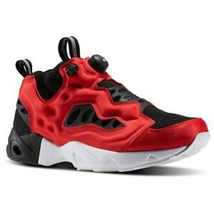 b7b945d4dabd Reebok Instapump Fury Road MT (Black Primal Red White) Men s Shoes ...