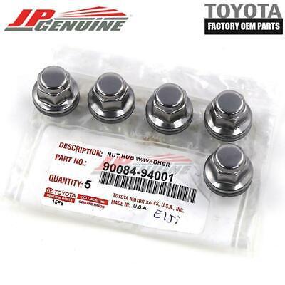 Genuine Toyota Lexus Oem Chrome Wheel Lug Nut Set Of 5 90084 94001 9008494001 Ebay