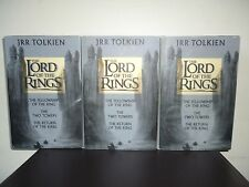 (TOLKIEN) LORD OF THE RINGS - VERY RARE UK FIRST PRINTS (1/1) HB DJ VGC - hobbit