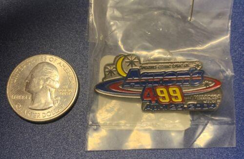 Aarons 499 Talladega Superspeedway 4//25//04 Won By Jeff Gordon NASCAR Pin