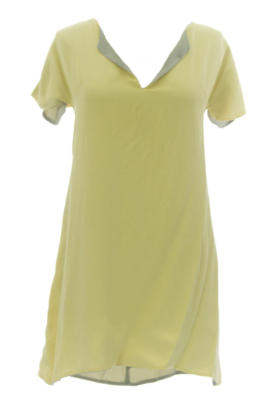 Anne Leman Damen Grau Zitronengelb Doppelseitig Kleid | Neue Sorten Sorten Sorten werden eingeführt  | Passend In Der Farbe  | Preiszugeständnisse  f99d33