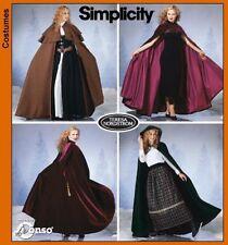 NEW Simplicity Teresa Nordstorm Misses Costume Sewing Pattern 5794 Hooded Cloak