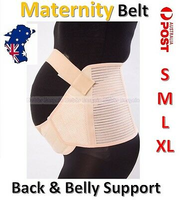 Maternity Pregnancy Abdominal Brace Belt Band-BAck & Belly Support Strap Brace