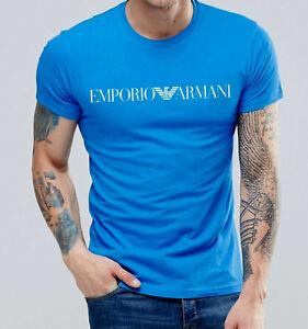 armani t shirt blu