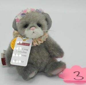 Charlie-Bears-Isabelle-Collection-Maus-Pearl-Grey-Wolle-ca-14cm-gross-Nr-3