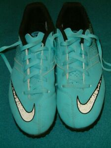 Nike-Turquoise-Astro-Turf-Chaussures-De-Football-UK-5-Eu-38-largeur-24-cms-EXC-Cond