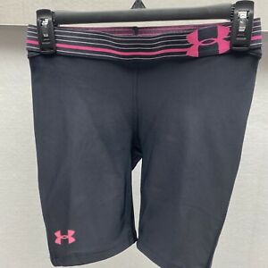 Under-Armour-Womens-Strike-Zone-Athletic-Compression-Shorts-Size-Small