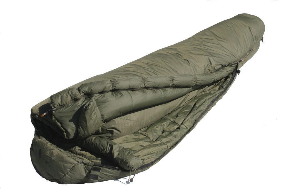 Sleeping Bag - Snugpak Softie Elite 2 Sleeping Bag in Olive Grün (LH Zip Only)