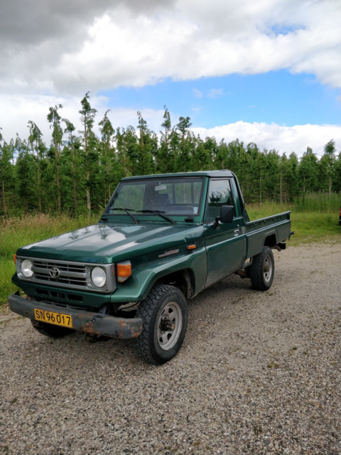 Toyota, Land Cruiser, 4,2 D 4x4 Pick-up, Diesel, 1996,…