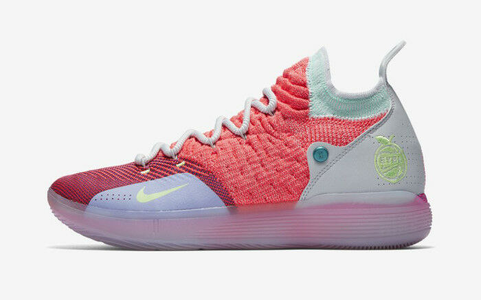 Nike Zoom KD 11 XI EYBL PE size 15. Hot Punch Lime. AO2604-600. bhm all star