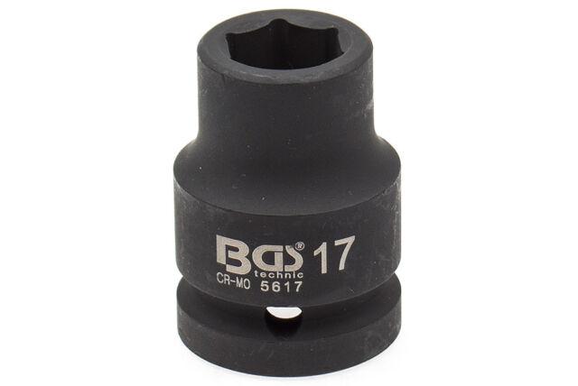 Schlagschrauber Nuss 3/4 Zoll SW 17 mm Steckschlüssel Stecknuss Kfz Werkzeug BGS