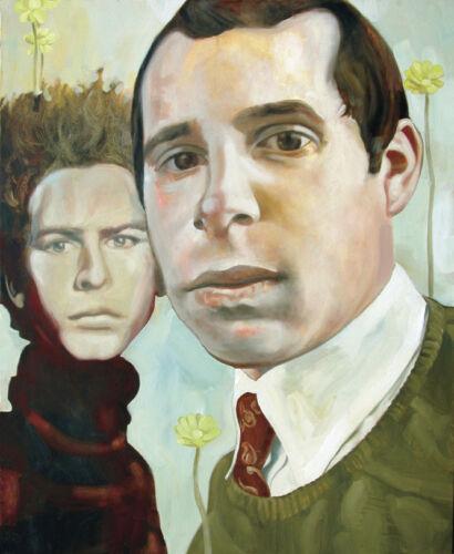 Portrait of Simon /& Garfunkel Archival Fine Art Print 11x14 Giclee Signed Folk