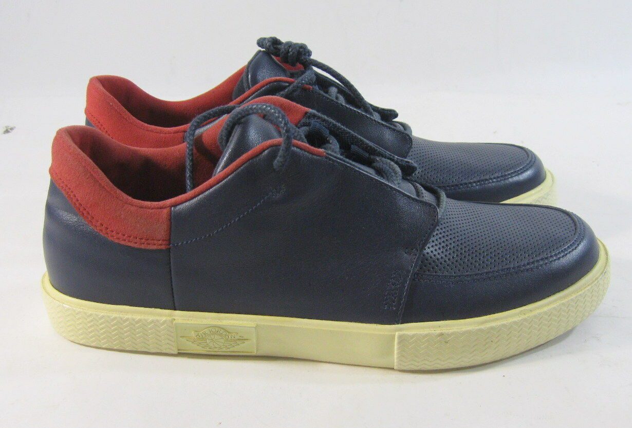 Jordan 428902 401 V.5 Grown Blau rot Mens Basketball schuhe Größe 8