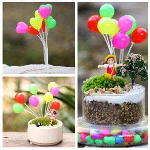 Garden Ornament Miniature Figurine Mini balloon Plant Fairy Dollhouse Decor Nice