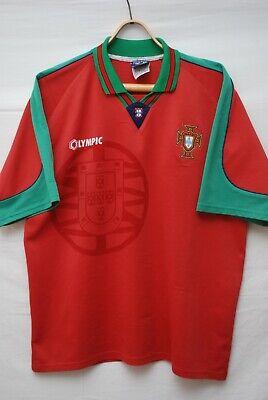 PORTUGAL NATIONAL TEAM 1996 1997 HOME FOOTBALL SHIRT SOCCER JERSEY SIZE XL   eBay
