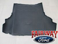 15 Thru 17 Mustang Genuine Ford Black Cargo Area Protector Mat W/o Subwoofer