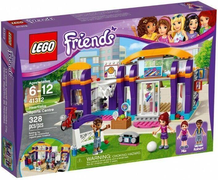 41312 HEARTLAKE SPORTS CENTRE center lego friends set NEW legos ROBERT mia GYM