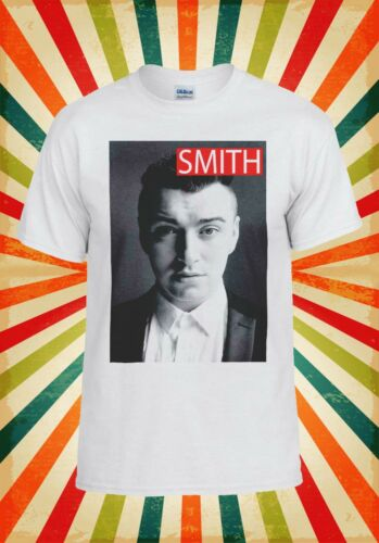 Sam Smith Music Funny Hipster Cool Men Women Vest Tank Top Unisex T Shirt 8