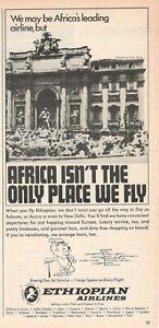 1969-Original-Advertising-039-Ethiopian-Airlines-Company-Aerial-Fountain-Trevi-Roma
