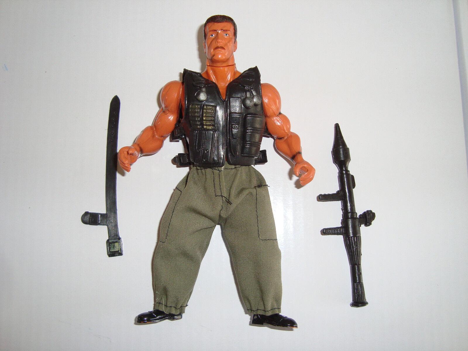Kommando, john matrix (arnie) 7  action - figur.