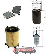 Set L: Innenraumfilter+Ölfilter+Luftfilter+Kraftstofffilter Inspektionspaket VW