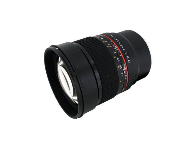 Samyang 85mm F1.4 Asphärisch Objektiv für Fujifilm X-Mount - Sy85m-fx
