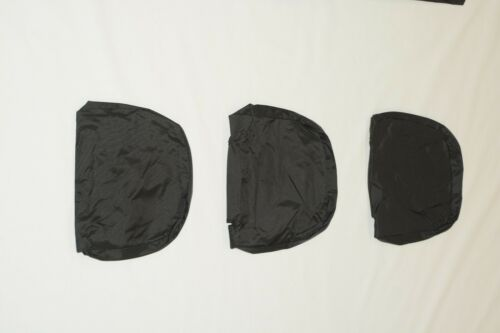 Mercedes Benz Vito Rear Triple Bench Inka Tailored Waterproof Seat Covers Black
