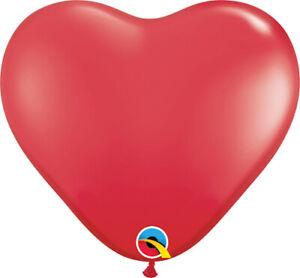 HEART-BALLOONS-100PK-STANDARD-RED-HEART-SHAPED-QUALATEX-6-034-15cm-LATEX-BALLOONS