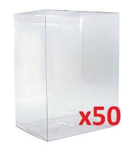 FUNKO-POP-4-034-VINYL-BOX-PROTECTORS-Radical-Retro-Strong-Stackable-Auto-Lock-x50
