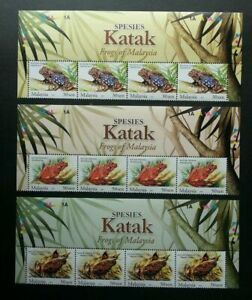 SJ-Frogs-Of-Malaysia-2007-Animal-Amphibians-Fauna-stamp-with-title-MNH